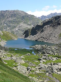 Lai da Tuma,Tumalake on 2,345 metres.JPG