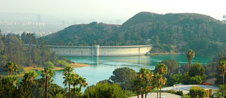 Hollywood Reservoir park in the united states
