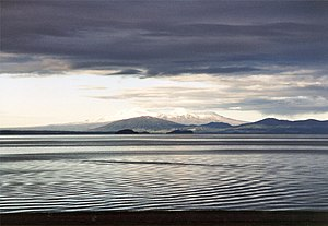 Lake Taupo - Image: Lake Taupo