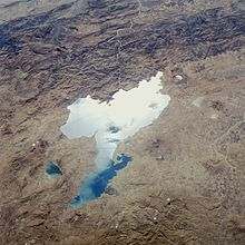 e3cd4da3ab Lake Van viewed from space shuttle Challenger during flight STS-41-G