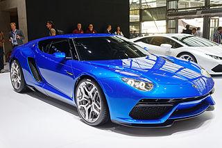 Hybrid concept car developed by Italian automobile manufacturer Lamborghini