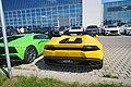 Lamborghini Aventador und Huracán Spyder, Motorworld Böblingen 64.jpg