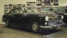 Lancia Florida II Coupé 4 porte del 1957. Unico esemplare costruito su autotelaio Lancia Flaminia. Auto personale di Battista Farina.