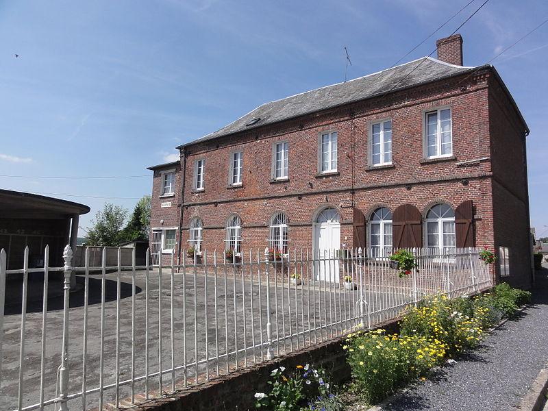Landifay-et-Bertaignemont (Aisne) mairie