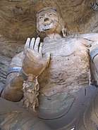 Large and small statues Yungang