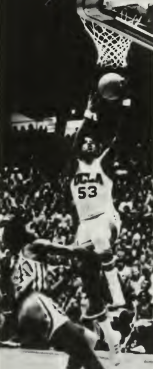 Larry Hollyfield - Hollyfield shooting with UCLA in 1972–73