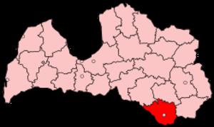 Daugavpils District - Image: Latvia Daugavpils