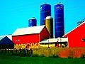 Laufenberg Farm with Three Harvestore® Silos - panoramio.jpg