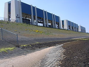 Lauwersmeer - Image: Lauwerseach sluzen 1