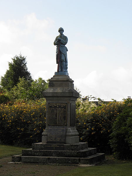 Monument aux morts du Saint (56).