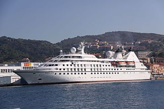 Speed 2: Cruise Control - Speed 2 is set aboard Seabourn Legend, which was used for six weeks of filming during production.