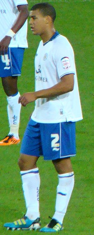 Lee Peltier - Peltier playing for Leicester City in 2011