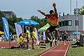 Leichtathletik Gala Linz 2018 triple jump Uwaifo-6939.jpg