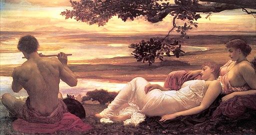 Leighton, Frederic - Idyll - c. 1880-81