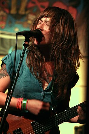 Lemuria (American band) - Sheena Ozzella onstage, 2012