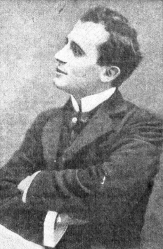 Leopoldo Fregoli - Leopoldo Fregoli, as he appeared in the Argentinian magazine Caras y Caretas in 1935.