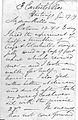 Letter from Jacob Bell to Bills, 27 January, (18)59 Wellcome L0026382.jpg