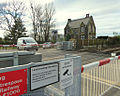 Level Crossing at Four Lane Ends - Geograph 4357513.jpg