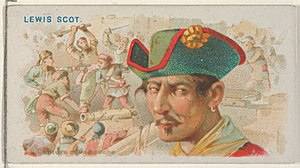 Lewis Scot - Image: Lewis Scot, Capture of Campeche, from the Pirates of the Spanish Main series (N19) for Allen & Ginter Cigarettes MET DP835048