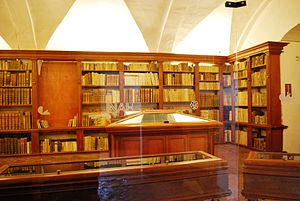 Museo Nacional del Virreinato - View of the college's library