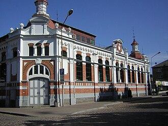 Liepāja - Image: Liepaja market