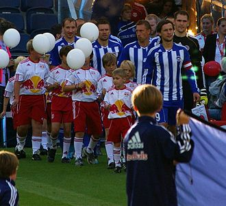 FK Liepājas Metalurgs - 2011–12 UEFA Europa League qualifying round game in Salzburg against FC Salzburg