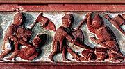 Lietuviai kovoja su vokiečiais.Lithuanians fighting Teutonic Knights (2)