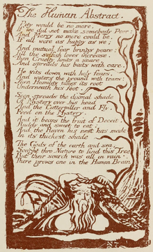 Life of William Blake (1880), Volume 2, Songs of Experience - Human Abstract.png