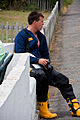 Lifeboat crew at Bembridge Lifeboat Station.jpg