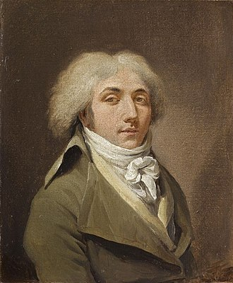 Louis-Léopold Boilly - Louis-Léopold Boilly, self-portrait