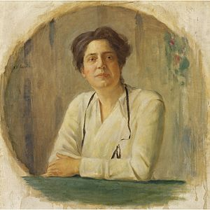 Lillian Wald - Portrait of Lillian Wald by William Valentine Schevill, National Portrait Gallery in Washington, D.C.