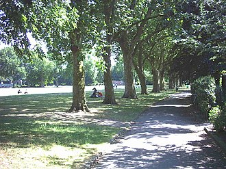 Lillie Rec - Lillie Road Recreation Ground in 2005