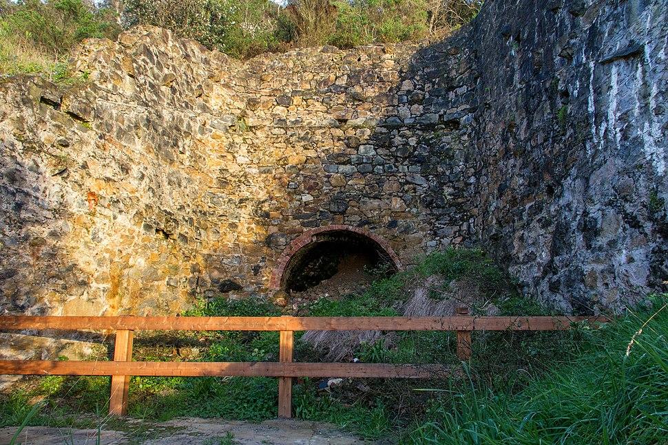 Limestone kiln ruins at Walkerville, Victoria, Australia