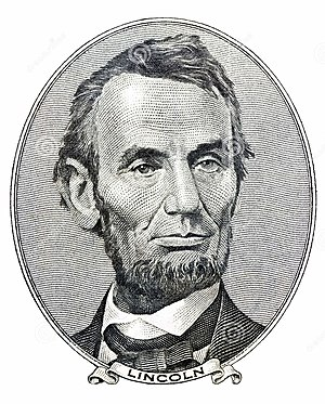 Charles Burt - Burt engraved Lincoln's face for the $100 bill - later used on the $5.