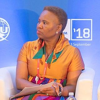 Lindiwe Zulu South African politician