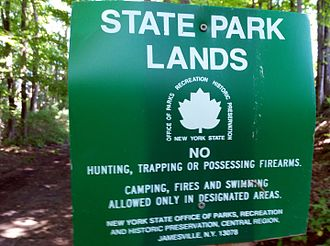 New York State Office of Parks, Recreation and Historic Preservation - Link Trail, near Cazenovia, New York
