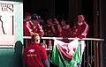 Lions Welsh rugby fans Wellington New Zealand 2 July 2005 2 July 2005.jpg