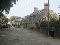 Llan San Sior, Sir Conwy, Cymru St George, North Wales 16.JPG
