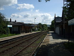 Llanrwst North Railway Station facing SSE - geograph.org.uk - 1483298.jpg