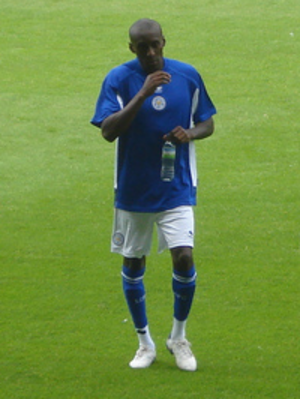 Lloyd Dyer - Dyer playing for Leicester City in 2010