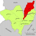 Localització de Catí respecte de l'Alt Maestrat.png