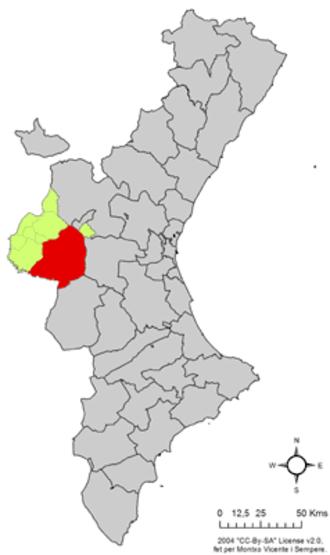 Los Isidros - Requena in the Valencian Community