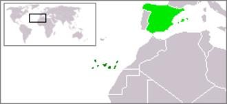Sicut Dudum - Location of Canary Islands