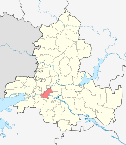 Location Of Bagayevsky District (Rostov Oblast).svg
