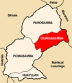 Location of the district Quinuabamba in Pomabamba.PNG