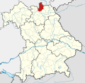 Locator map KC in Bavaria.svg
