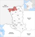 Locator map of Kanton Mauléon 2019.png