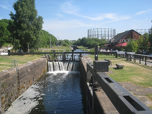 Lock 27, Forth and Clyde Canal (geograph 4935918)