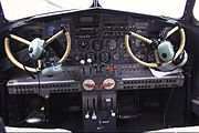 Lockheed 10A Electra flight deck