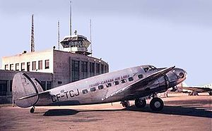 Trans-Canada Air Lines - A Lockheed Model 18 Lodestar of Trans-Canada Air Lines, c. 1938